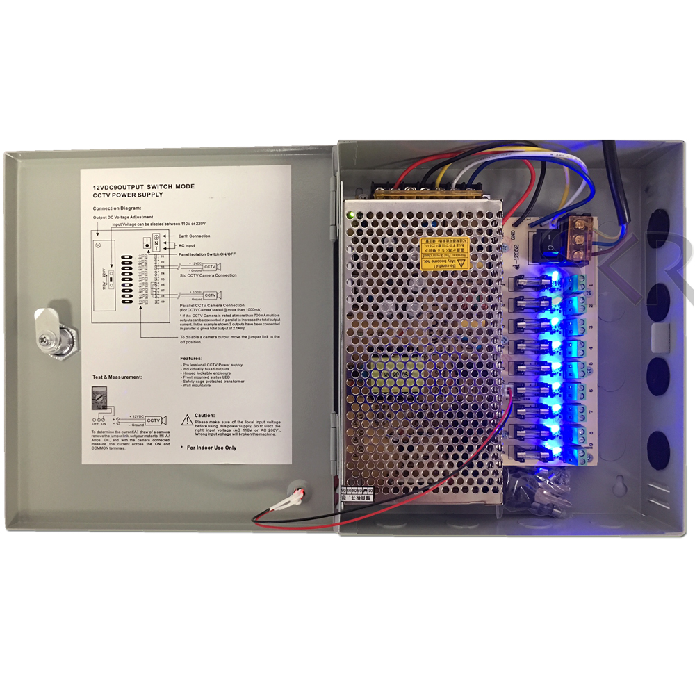 Adapter Power Supply Fuse Box on